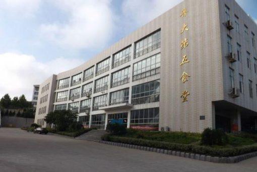 中国の大学の学食