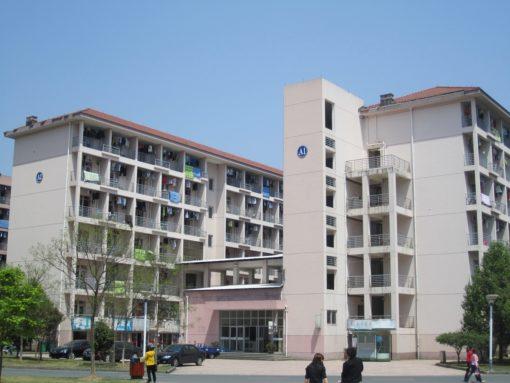 中国の大学の学生寮