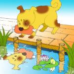 昔話の読解教材⑱ 『欲張りな犬』