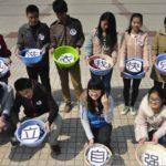 中国の大学生の洗濯事情