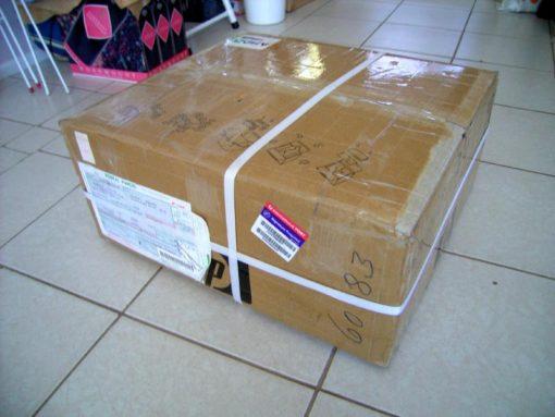 中国の大学へ赴任前の荷物の郵送