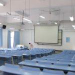 中国の大学の教室の設備