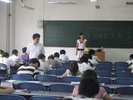 中国の大学の試験と成績