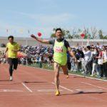中国の大学の運動会