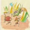 昔話の読解教材㉕ 『アリとキリギリス』