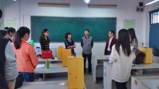 中国の大学の研究室