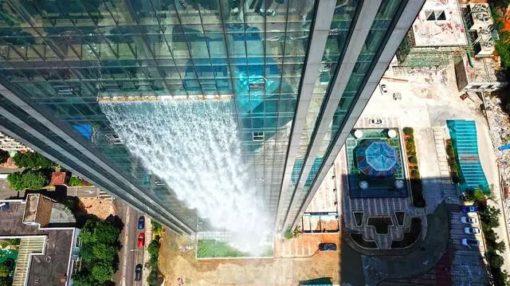 中国の凄い発想のビル