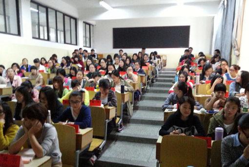 中国の大学の授業見学