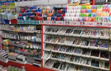 中国は文房具が安い