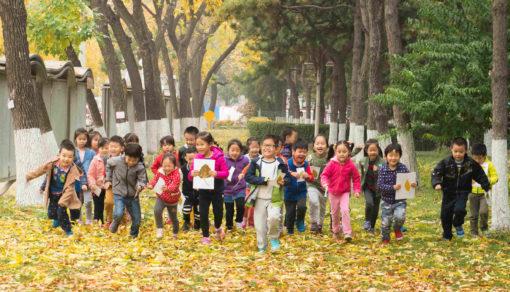 中国の子どもたちが1日も早く外で遊べますように